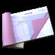 Carnets 2 feuillets format A5 Autocopiant